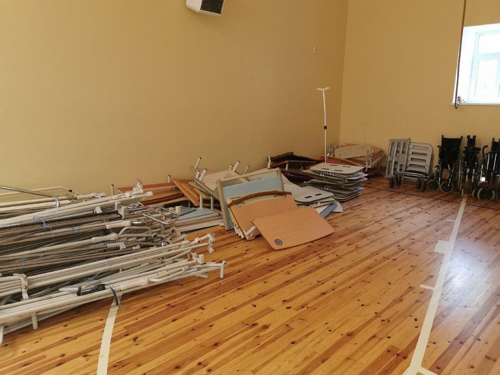 AIMA recevra dans quelques temps, des photos des lits et du mobilier installé ! A bientôt !