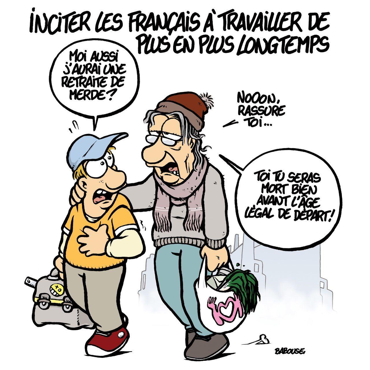 """Tou·tes en grève mardi 24 septembre : """"Travailler plus pour une pension minable"""""""