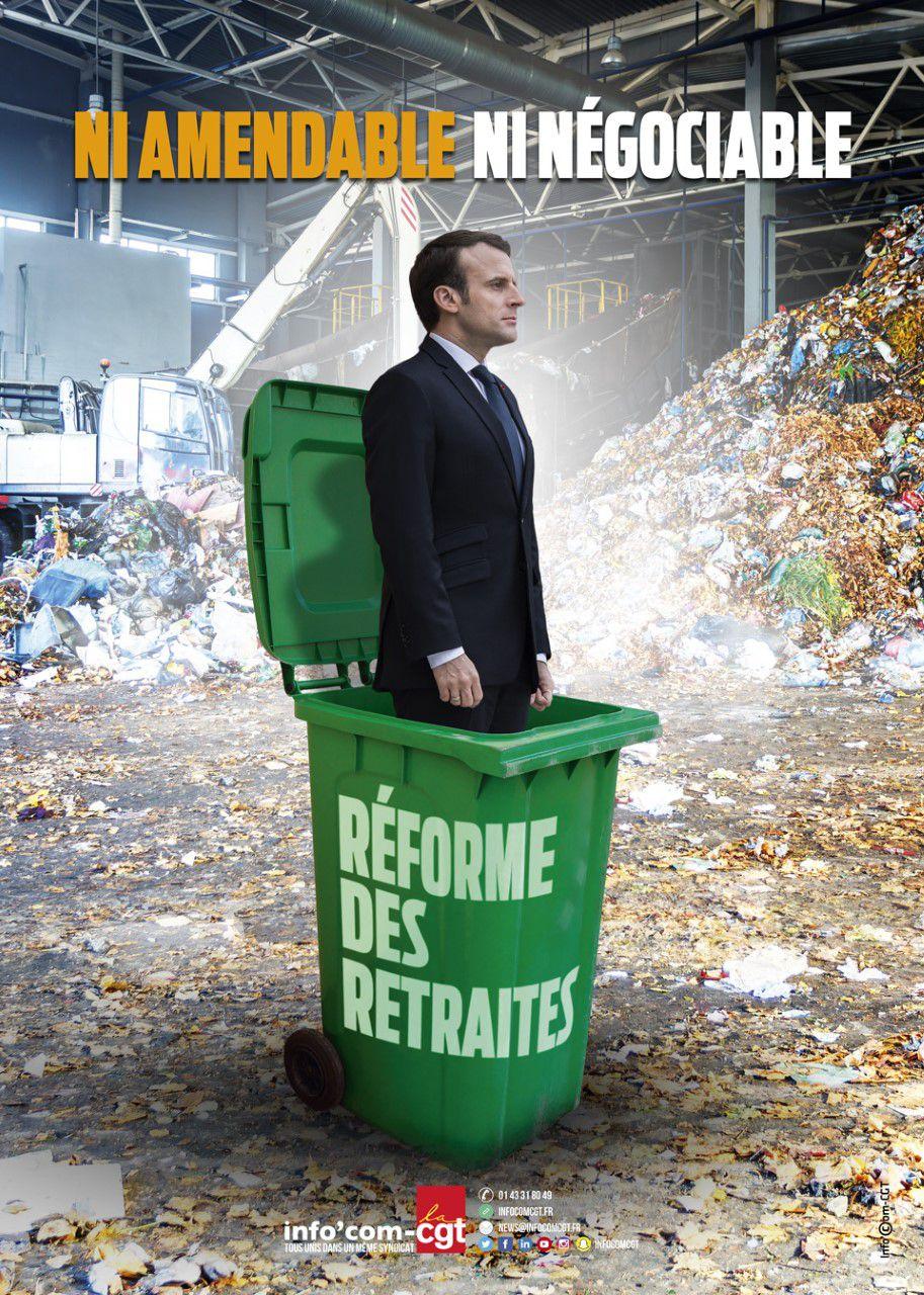14 janvier, puis 15, puis 16... : grève, manif, AG et action... pour le système de retraite par répartition, solidaire et intergénérationnel et par annuité.