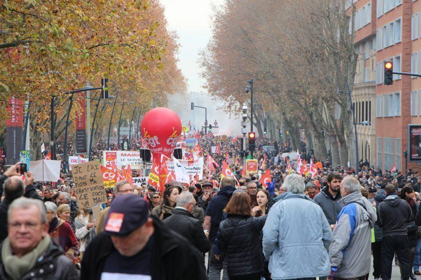 9-11 janvier... de plus en plus mobilisé·es contre la réforme de la retraite par points ! Poursuivons la lutte !