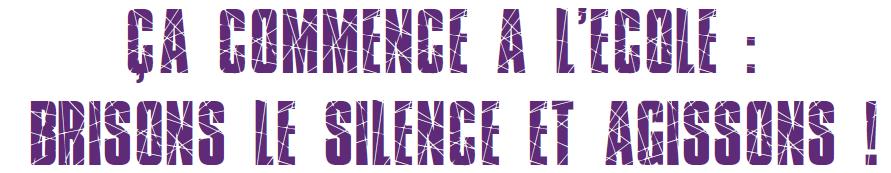 Mercredi 4 mars : Les viols à l'école ne sont pas des faits divers !