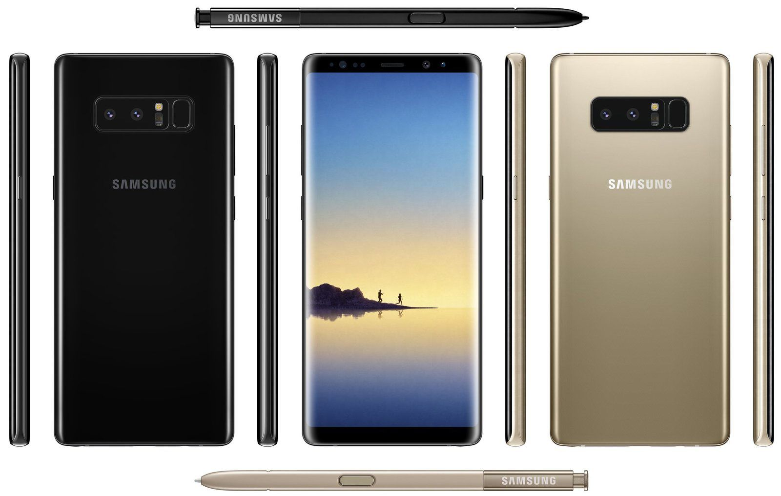 Le Samsung Galaxy Note 8 Arrive Equipons