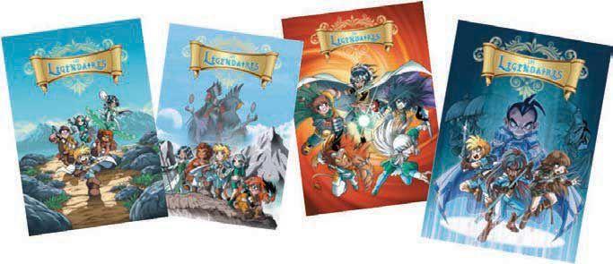 Offre spéciale comprenant les cartes postales de la série +  le lot de 3 diptyques