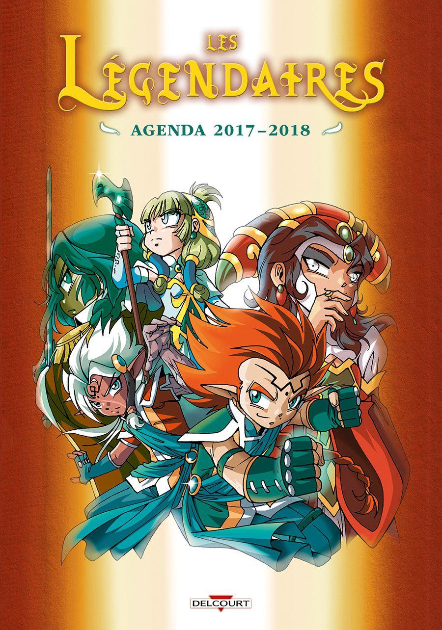 MAJ - EXCLU : Couverture de l'agenda 2017-2018!!!