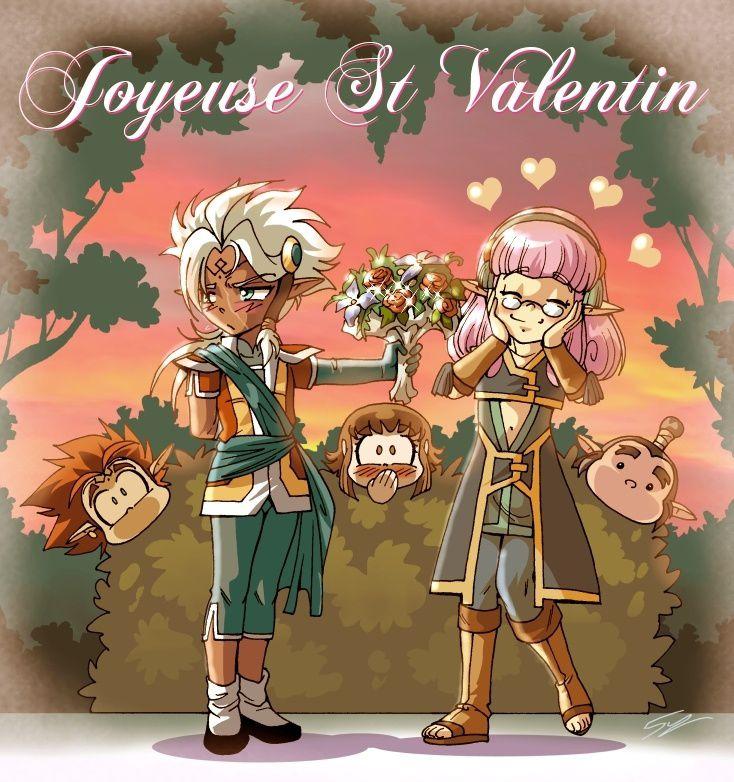 Joyeuse Saint-Valentin à tous les Légenfans !