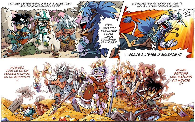 [T.21] : News N°33 : L'épée divine, les kishus et le pouvoir !