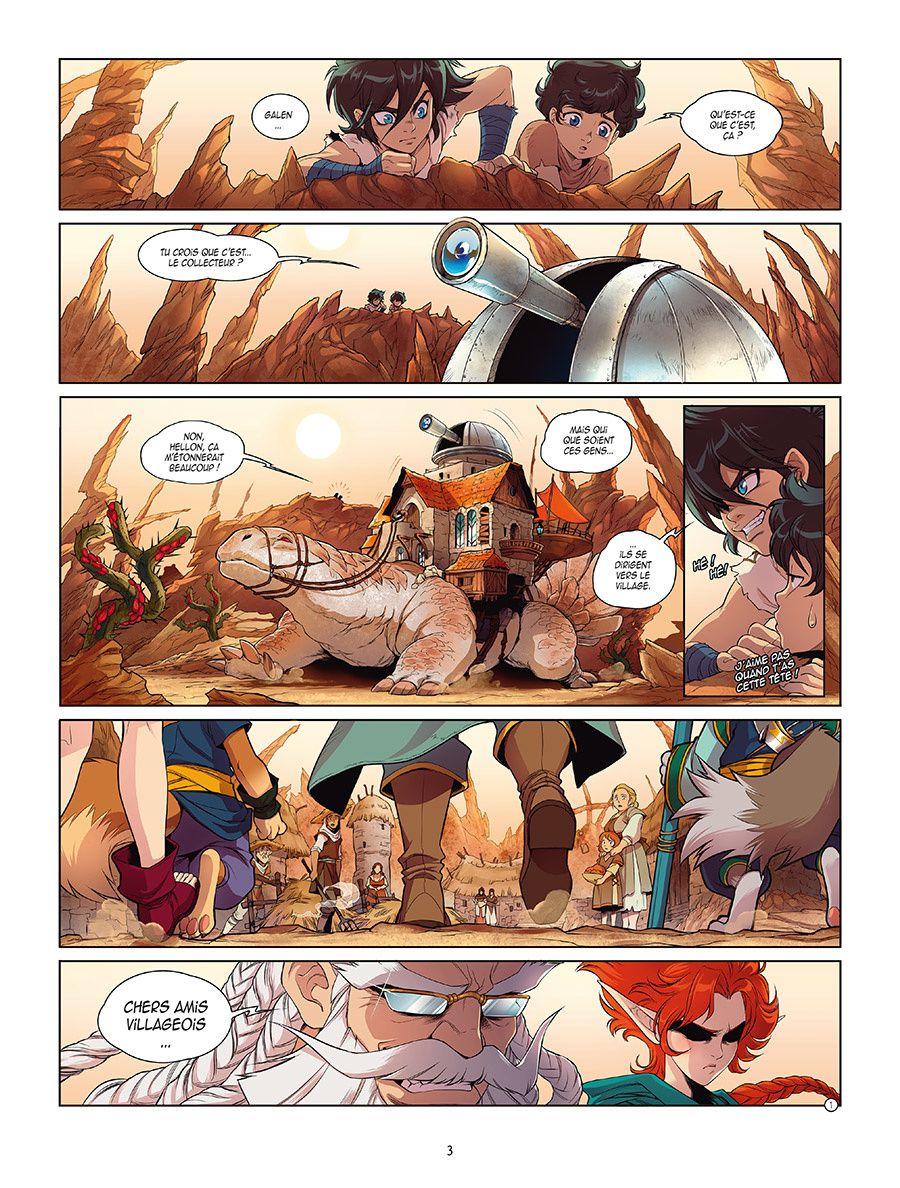 ALERTE : Les 10 premières pages de Ténébris !! (SPOILERS)