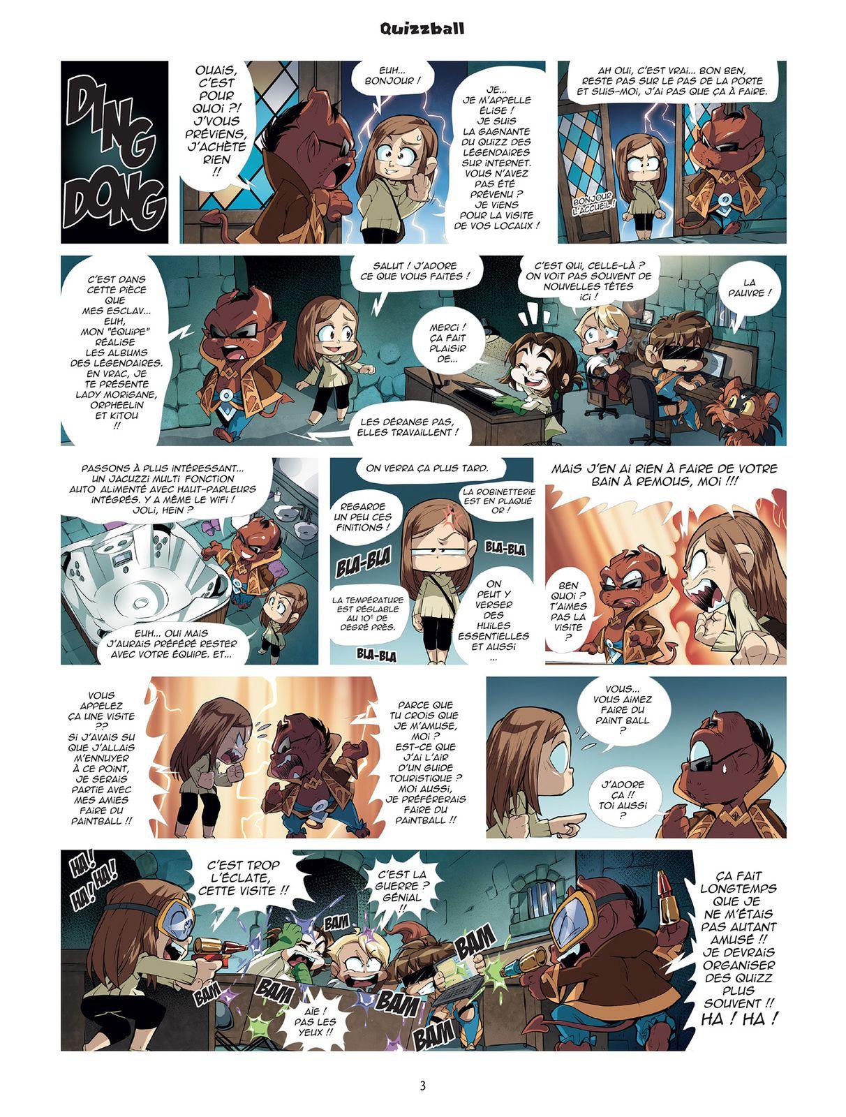 [ALERTE] : Les 4 premières pages de Game of drôle !
