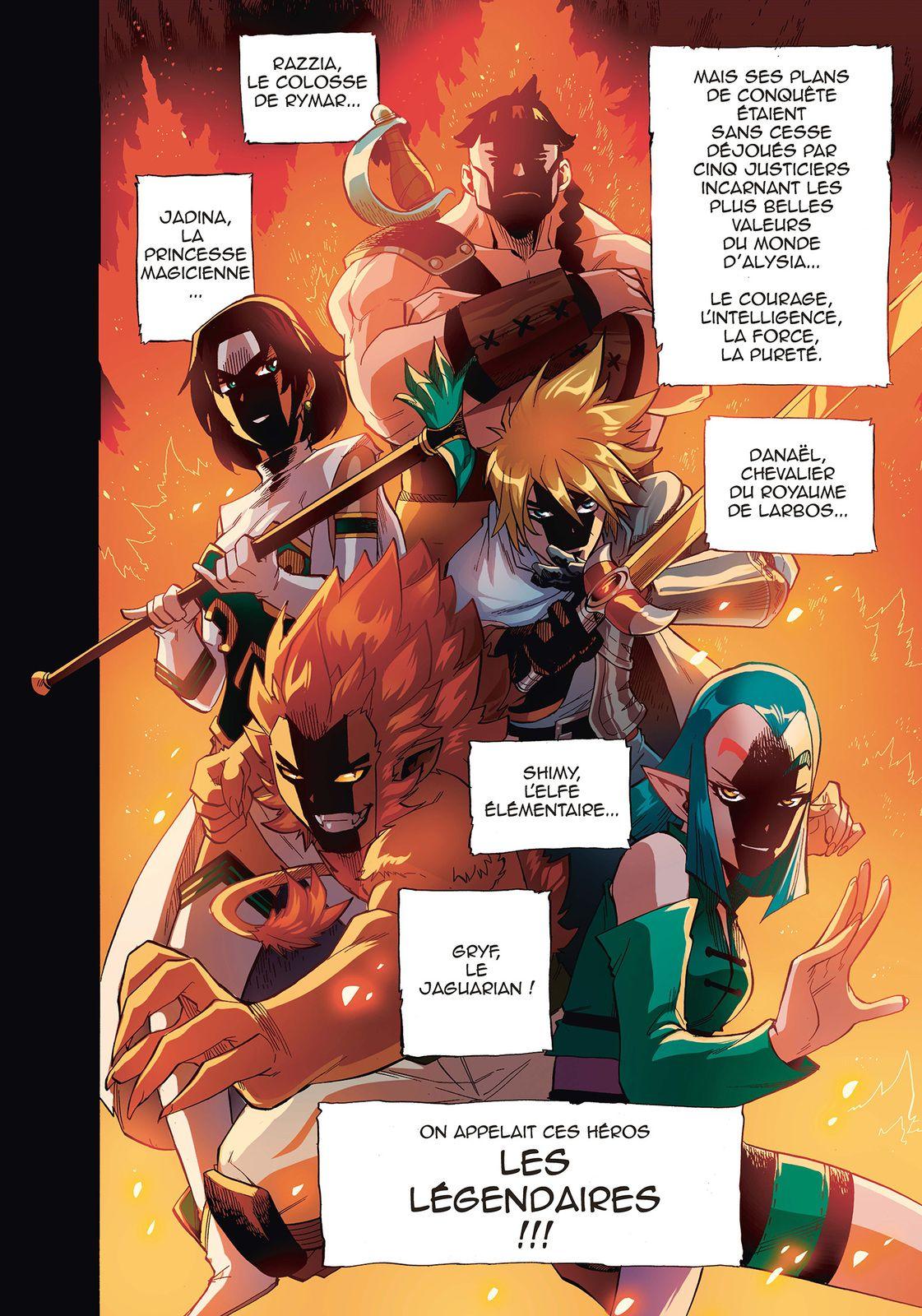 ALERTE : Le tout premier chapitre des Légendaires Saga - Tome 1 !!
