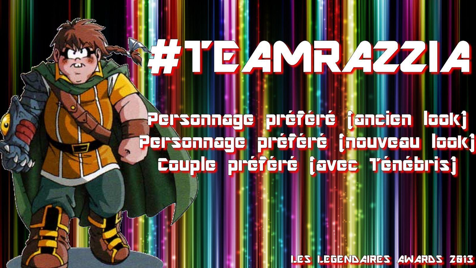 [Les Légendaires Awards] : Découvrez l'affiche de la #TeamRazzia