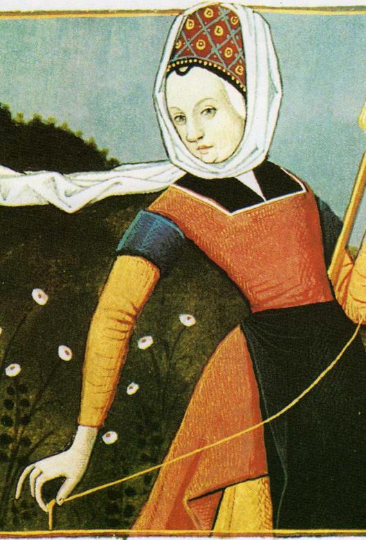 Une poétesse et Abesse valorise le corps des Femmes en l'an 1200 ()()()
