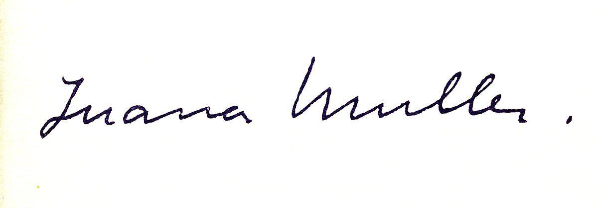 Juana Muller, une Sculpteure ()[]{}()