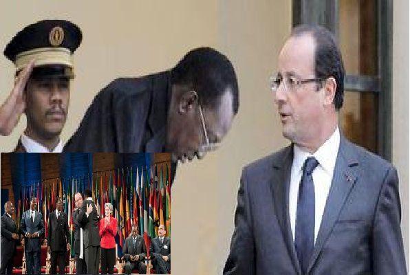 Sommet de la honte à l'Elysée: Survie lance une pétition contre les dictateurs africains