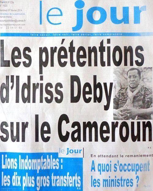 Les prétentions d'Idriss Deby sur le Cameroun