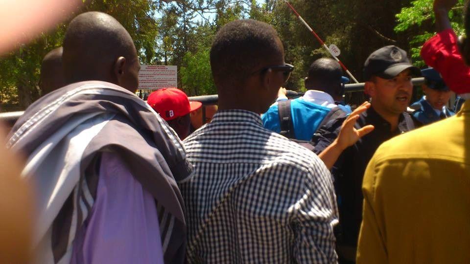L'Ambassade du Tchad à Alger occupée par les étudiants tchadiens en colère
