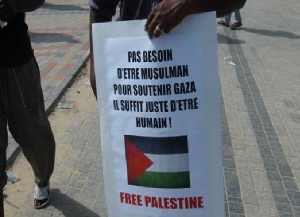 Gaza : à travers le Sénégal, toute l'Afrique solidaire au peuple Palestinien