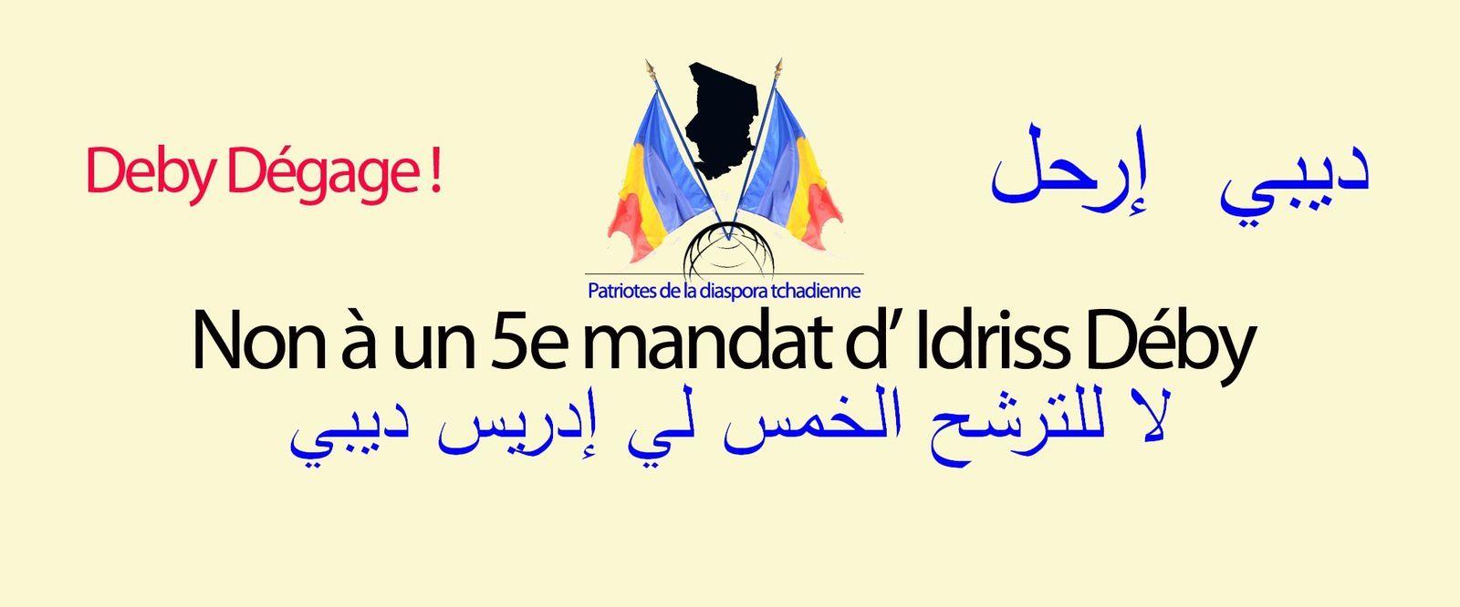 Rappel du communiqué n°008 /PDTF/de la marche Trocadéro - Ambassade du Tchad