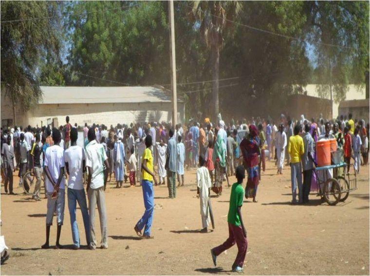 Alwihda/Tchad: Manifestation à Am Timan