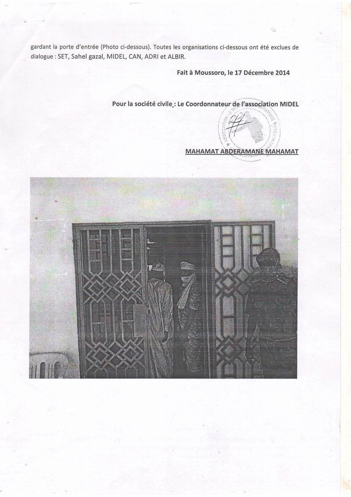 Processus électoral au Tchad: la CENI interpellée