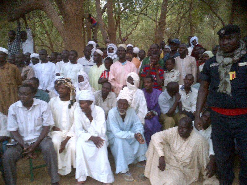 Guéra: la population se mobilise pour l'UNDR à Baro