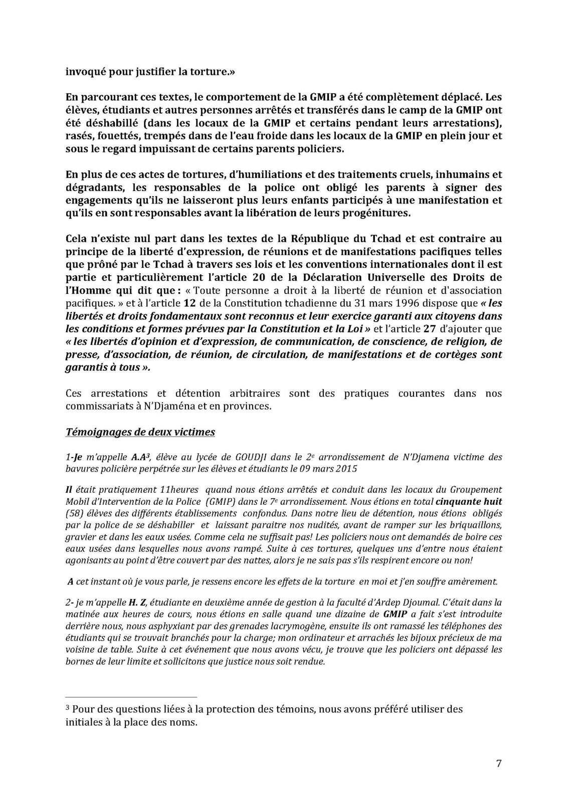 Silence on torture au Tchad: la LTDH épingle le régime d'Idriss Deby (rapport)