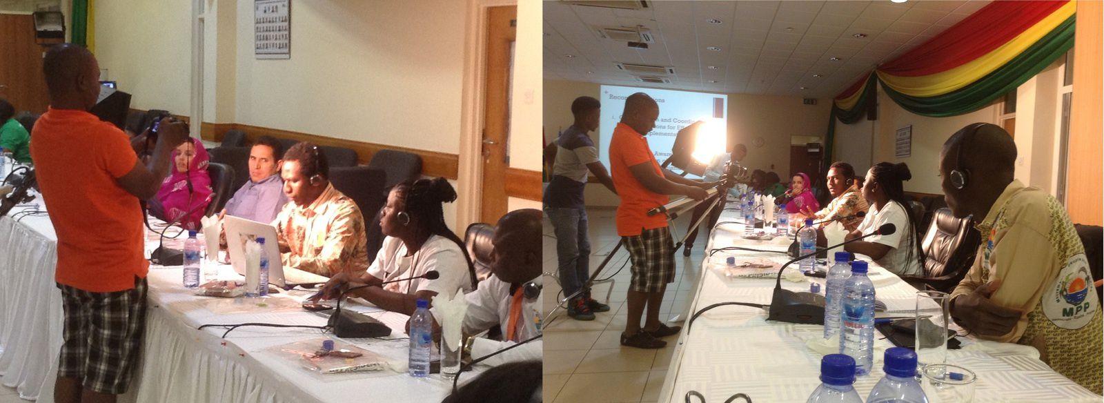 Ghana: déclaration de Brahim Ibni Oumar Mahamat Saleh au comité Afrique de l'UJS