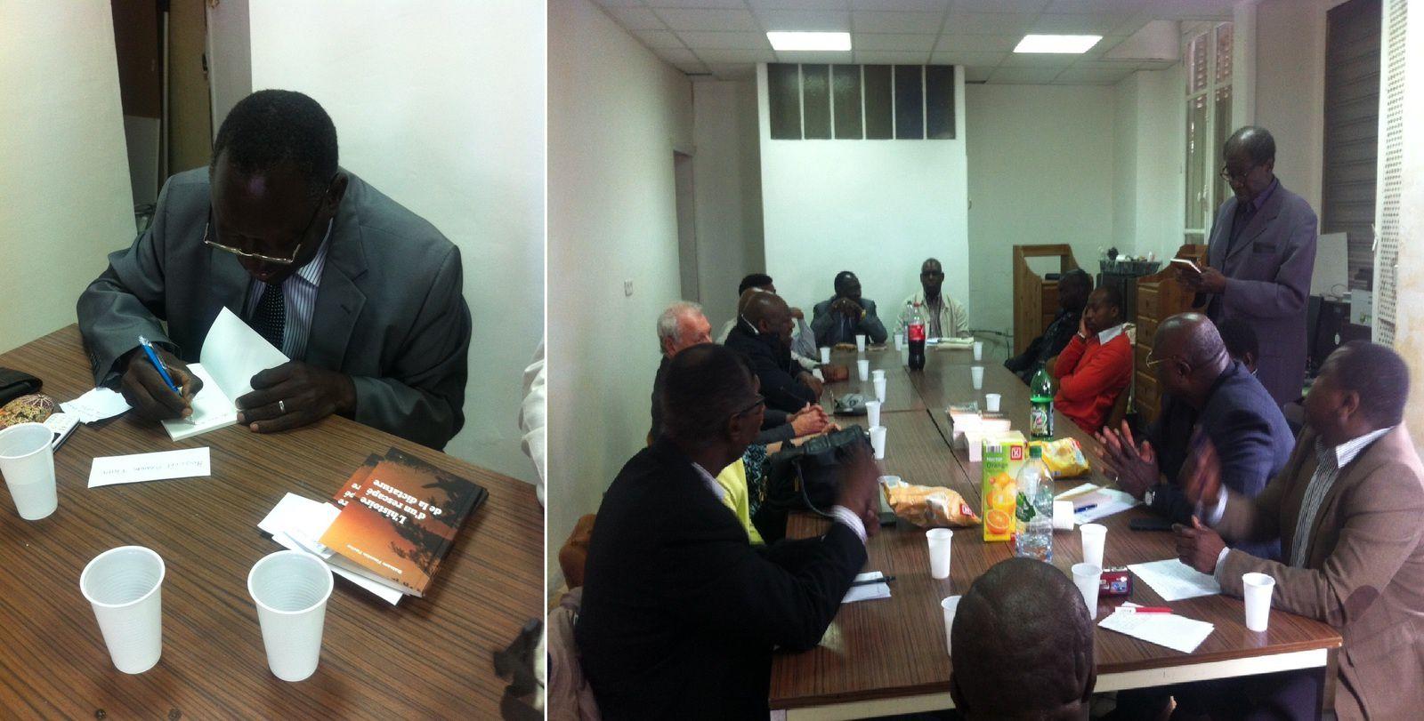 Tchad : « Dés le 1er février, j'étais passé dans la clandestinité », raconte, le Pr Facho Ballam à Courbevoie