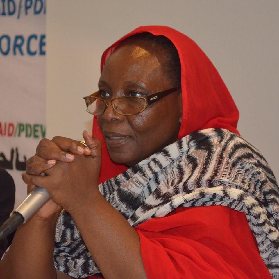 Zara Mahamat Yacoub, directrice de radio Dja Fm
