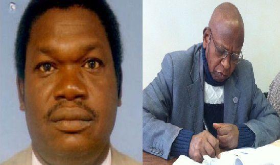 Barka Michel et Younous Mahadjir, deux responsables de la principale centrale du Tchad