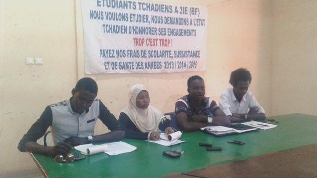 Crise entre les 2IE et l'Etat tchadien : Les étudiants décident « de camper à l'ambassade »