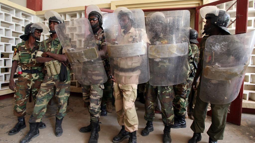Aux forces de défenses et de sécurité du Tchad