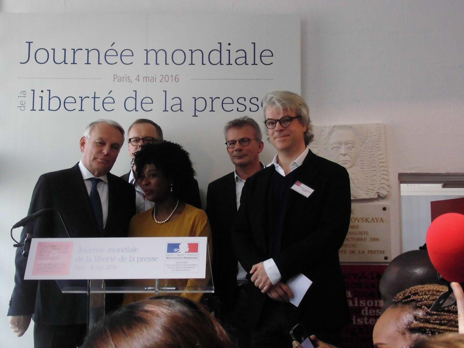 Journée mondiale de la liberté de la presse : Jean Marc Ayrault, solidaire aux journalistes exilés