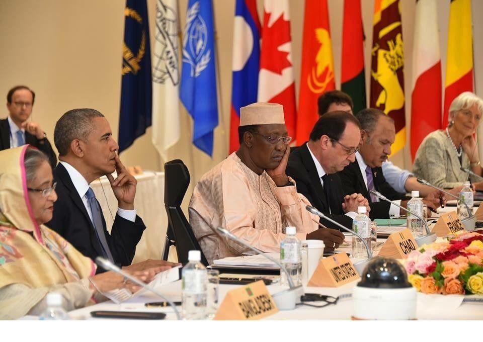 Sommet du G7 : encerclé par Barak Obama et François Hollande, Idriss Deby contraint à libérer les militaires disparus au Tchad