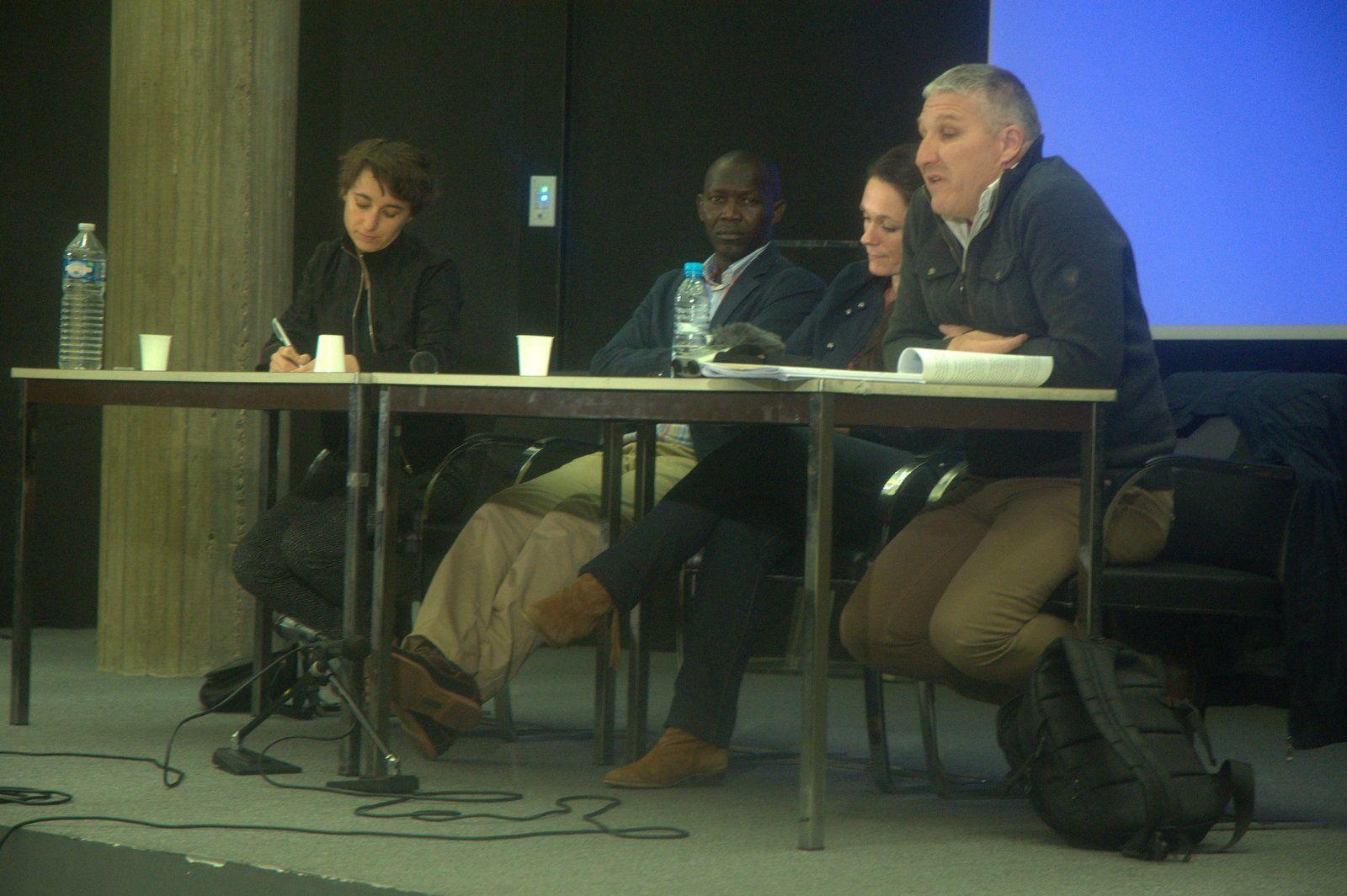 Prise de parole de M.Mahamat Alhabo, candidat à l'élection présidentielle au Tchad à la conférence sur le Tchad à Paris