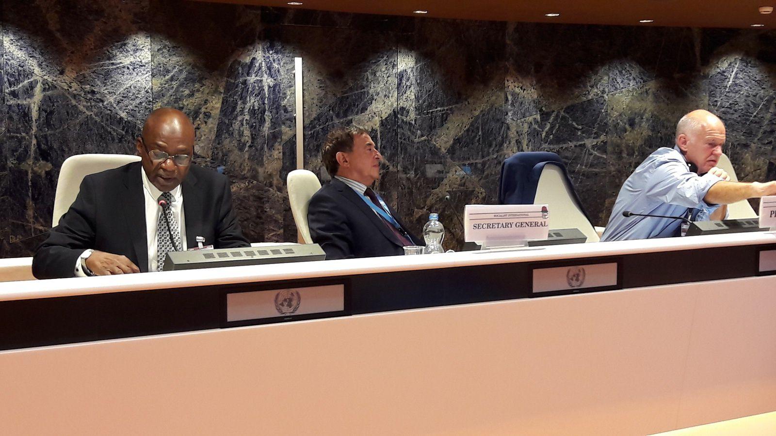 Genève: le Conseil de l'Internationale Socialiste apporte son soutien à l'opposition tchadienne et à l'UNDR