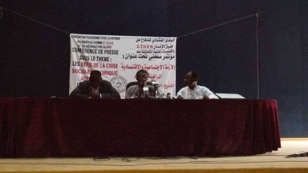 Tchad : après le point de presse de Mahamat Nour Ahmed Ibedou à Ndjaména, la société civile inscrit son programme de mobilisation générale.