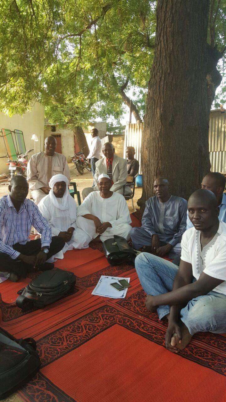 Devoir de solidarité au Tchad: les leaders de l'opposition rejoignent à la bourse de travail les militants grévistes de la faim