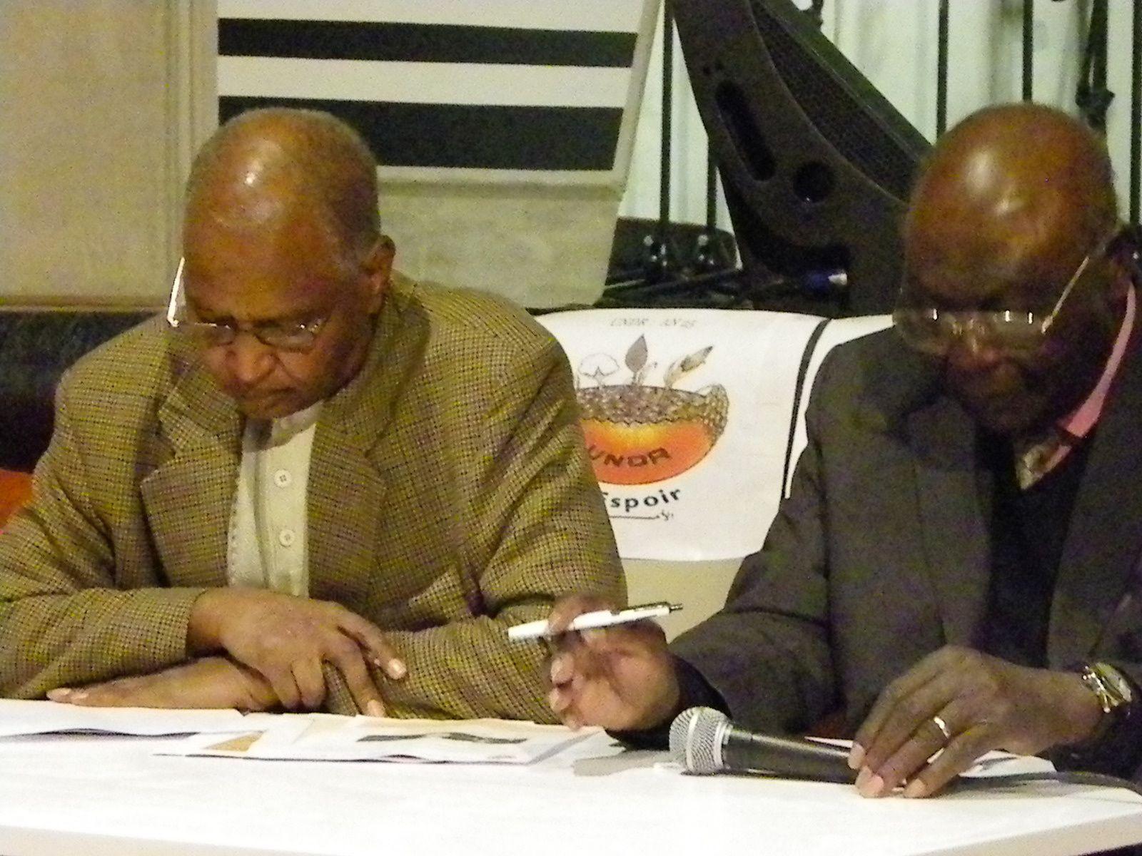 Tchad: 25ème anniversaire de l'UNDR célébré à Paris dans le cadre de constat et diagnostique de la vie politique tchadienne