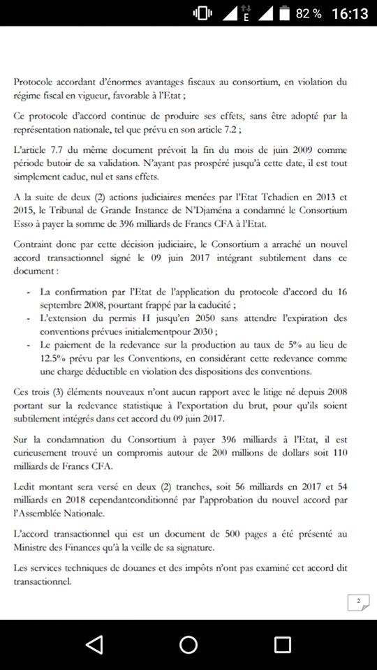 Tchad: le Président du Conseil Costitutionnel interpellé sur un projet des lois par des députés exigent une relecture