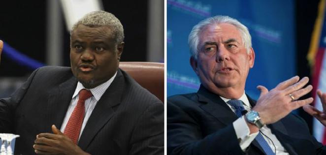 Les ennuis d'Idriss Deby avec les Américains remontent depuis l'affaire Moussa Faki avec Rex Tilerson, secrétaire d'Etat américain