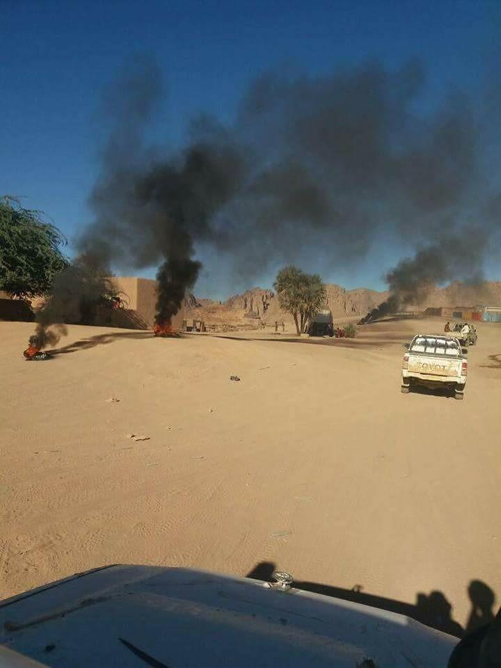 Urgent: Manifestation à Bardaï au Tchad