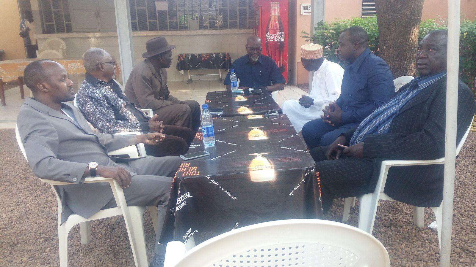 Moundou: Une délégation de la CPDC reçue par LAOKEIN Kourayo Médard, leader de la CTPD
