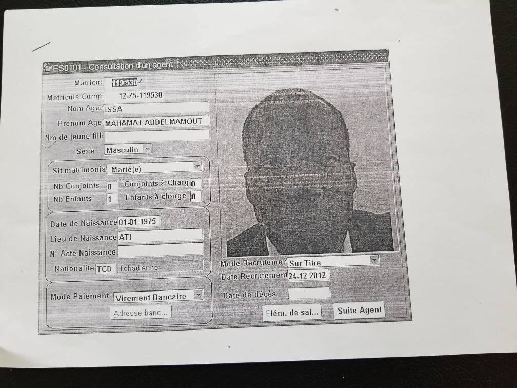 Au Tchad, le protégé du Ministre de la Justice démasqué pour délit de  faux et usage de faux