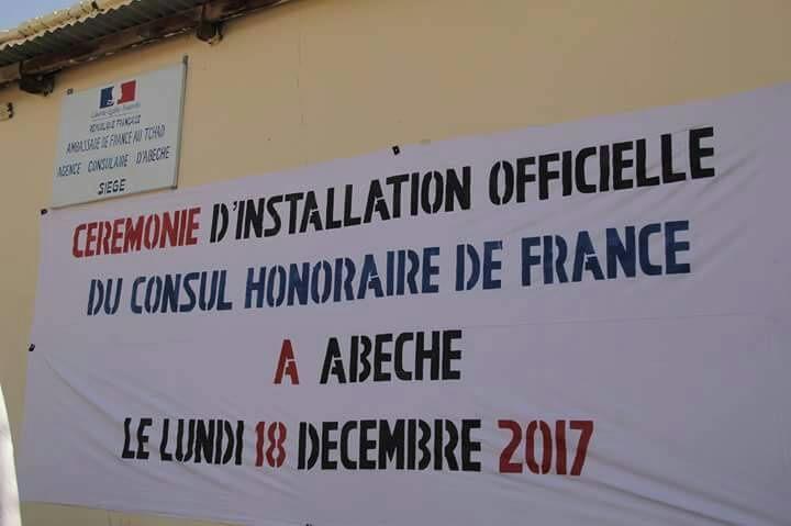 Le consulat honoraire de France à Abéché, inauguré par M.Philippe LACOSTE, ambassadeur au Tchad