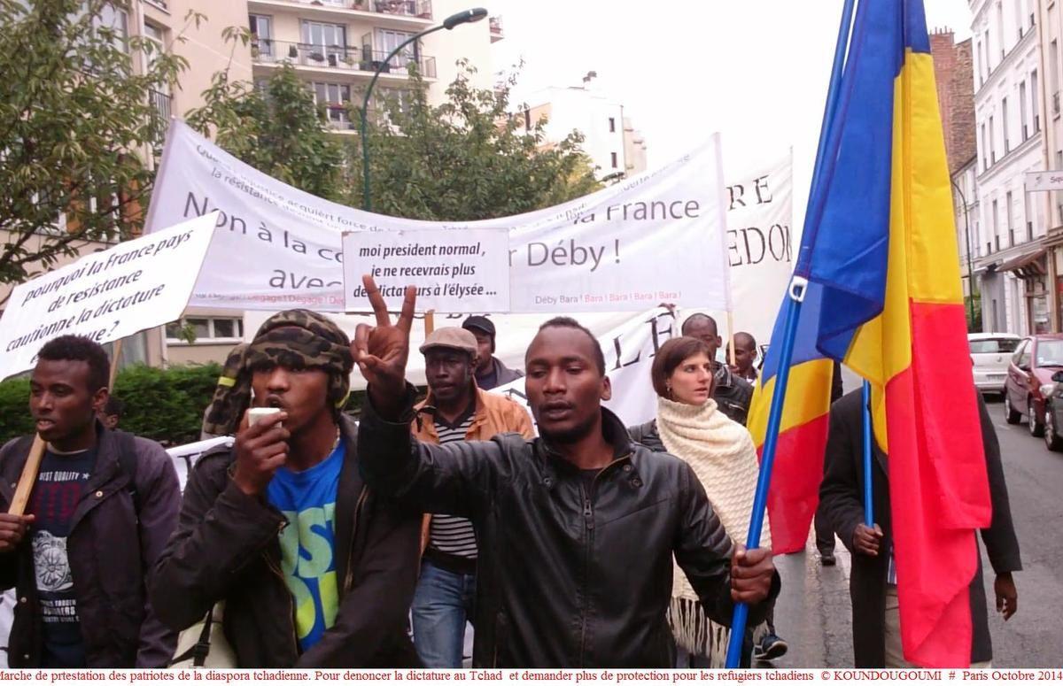 Les Patriotes de la Diaspora Tchadienne de France se mobilisent pour la marche du 25 janvier au Tchad