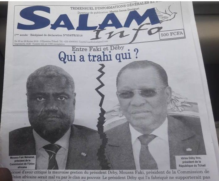 Idriss Deby/Moussa Faki: qui a trahi qui?