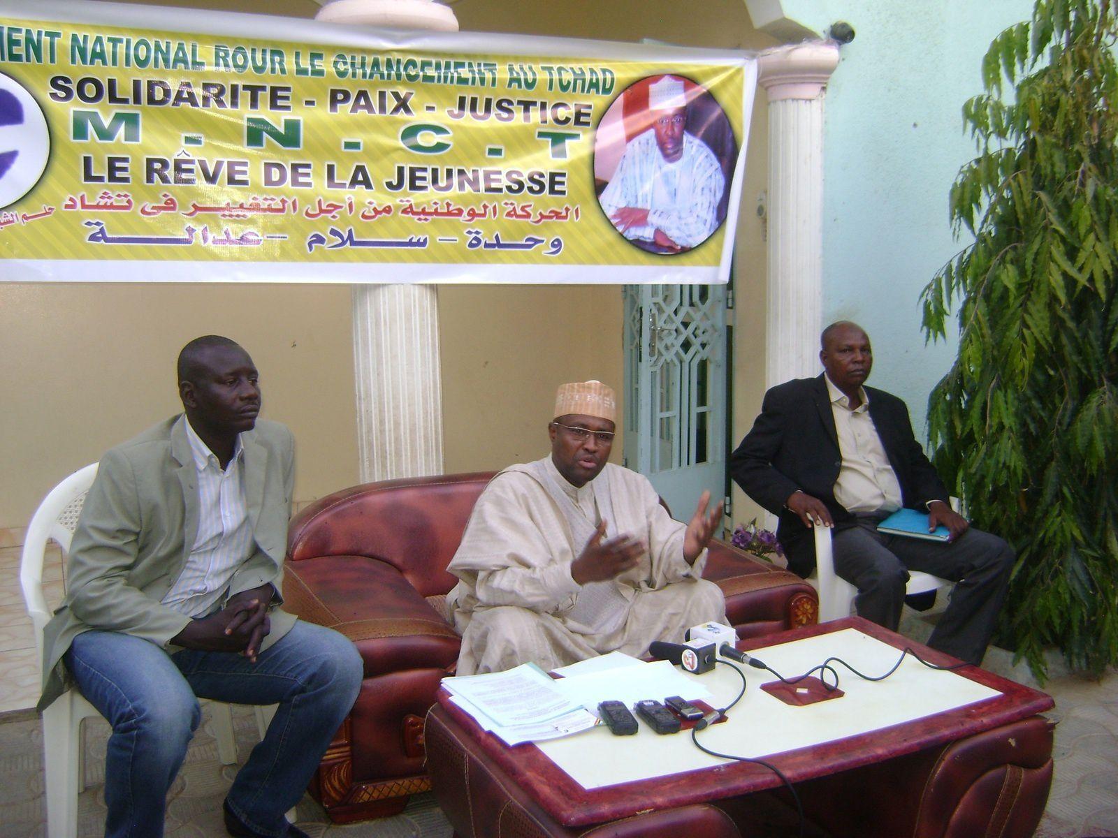 Nous écrivons l'histoire du Tchad sans Idriss Deby