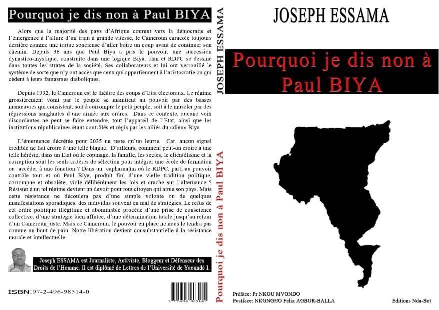 CAMEROUN :  UN JOURNALISTE CRACHE DU VENIN SUR LE RÉGIME DE YAOUNDÉ.