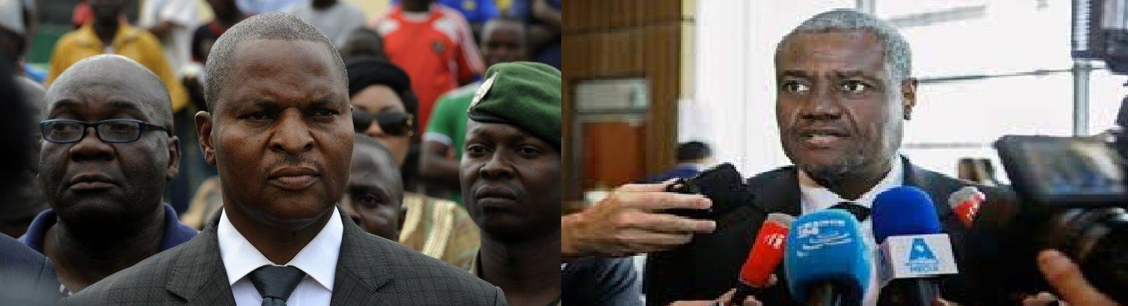 Violent clash entre Moussa Faki Mahamat et Faustin Touadera.