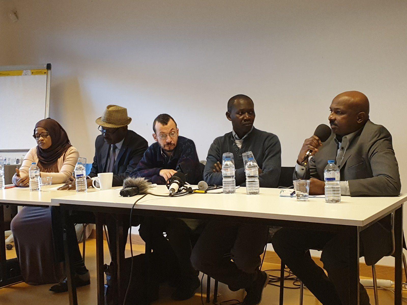 Une conférence de presse sur les opposants tchadiens extradés